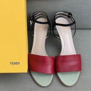 Fendi Heeled Sandals